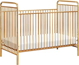 Babyletto Jubilee 3-in-1 Convertible Metal Crib, Gold