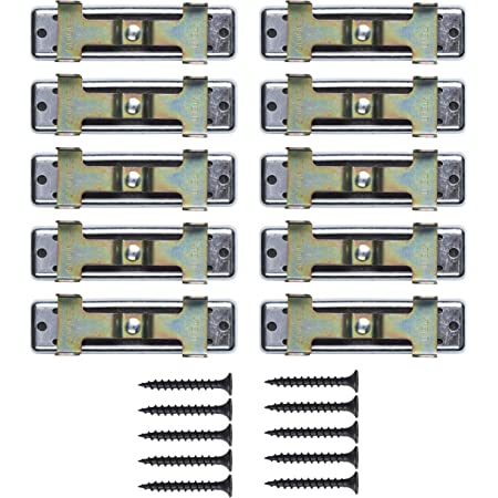 Green Glue Noiseproofing Whisper Clips - 10 Pack - Screws Included