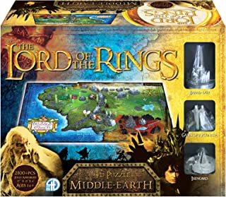 4D Cityscape Lord of The Ring Middle Earth 3D Time Puzzle (1390 Piece)