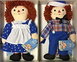 Raggedy Ann & Andy Awake Alseep Pair Limited Edition by Applause