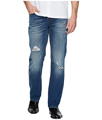 Liverpool Relaxed Straight with Destruct in Rigid Denim in Waco Destruct (Waco Destruct) Men