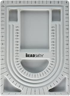 UnCommon Artistry Bead Design Beading Board Gray Flock With Lid 9 X 12 Inches