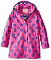Hatley Kids - Fuchsia Medallion Splash Jacket (Toddler/Little Kids/Big Kids)