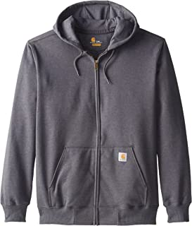carhartt men's wind fighter hooded sweatshirt