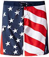 O'Neill Kids - Sneakyfreak Boardshorts (Big Kids)
