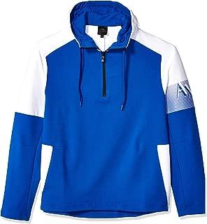 A|X Armani Exchange Men's Hooded Half-Zip Sweatshirt