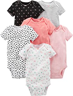 Simple Joys by Carter's Baby Girls' 6-Pack Short-Sleeve...