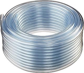 10FT Quickun Industrial Grade Plastic PVC Vinyl Tubing 1 ID x 1-1//16 OD Clear Tube BPA Free Heavy Duty