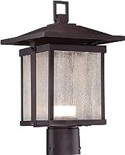 Minka Lavery Outdoor Post Lights 8166-615B-L Hillsdale Outdoor Post Lighting LED, Bronze