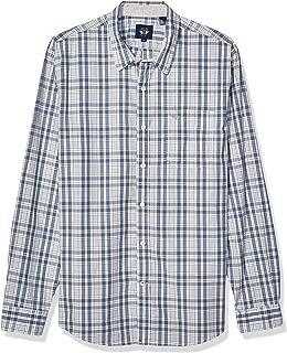 Men's Long Sleeve Alpha Button Down Shirt