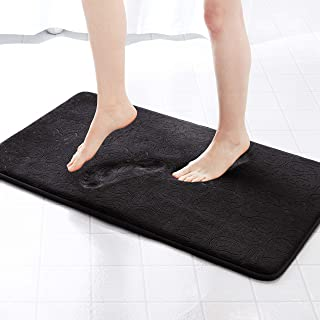 Genteele Memory Foam Bathroom Rugs Non-Slip Absorbent Bath Mat Rug Carpet c0837a675