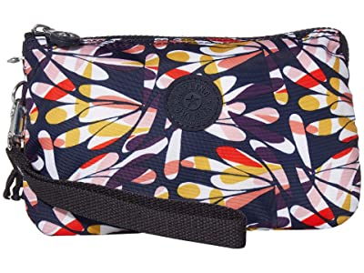 Kipling Creativity XL Pouch (Retro Floral) Clutch Handbags