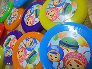 Unbranded 12 Team Umizoomi Mini frisbees, Birthday Party Favors, Goodie Bag loot GEO