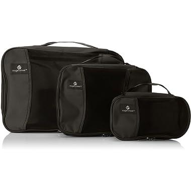 Eagle Creek Pack-It Cube Set Packing Organizer, Black, Set of 3