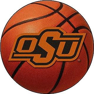 FANMATS NCAA Oklahoma State University Cowboys Nylon Face Basketball Rug