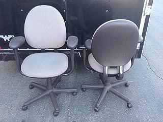 Steelcase Criterion Chair in Dark Grey Fabric