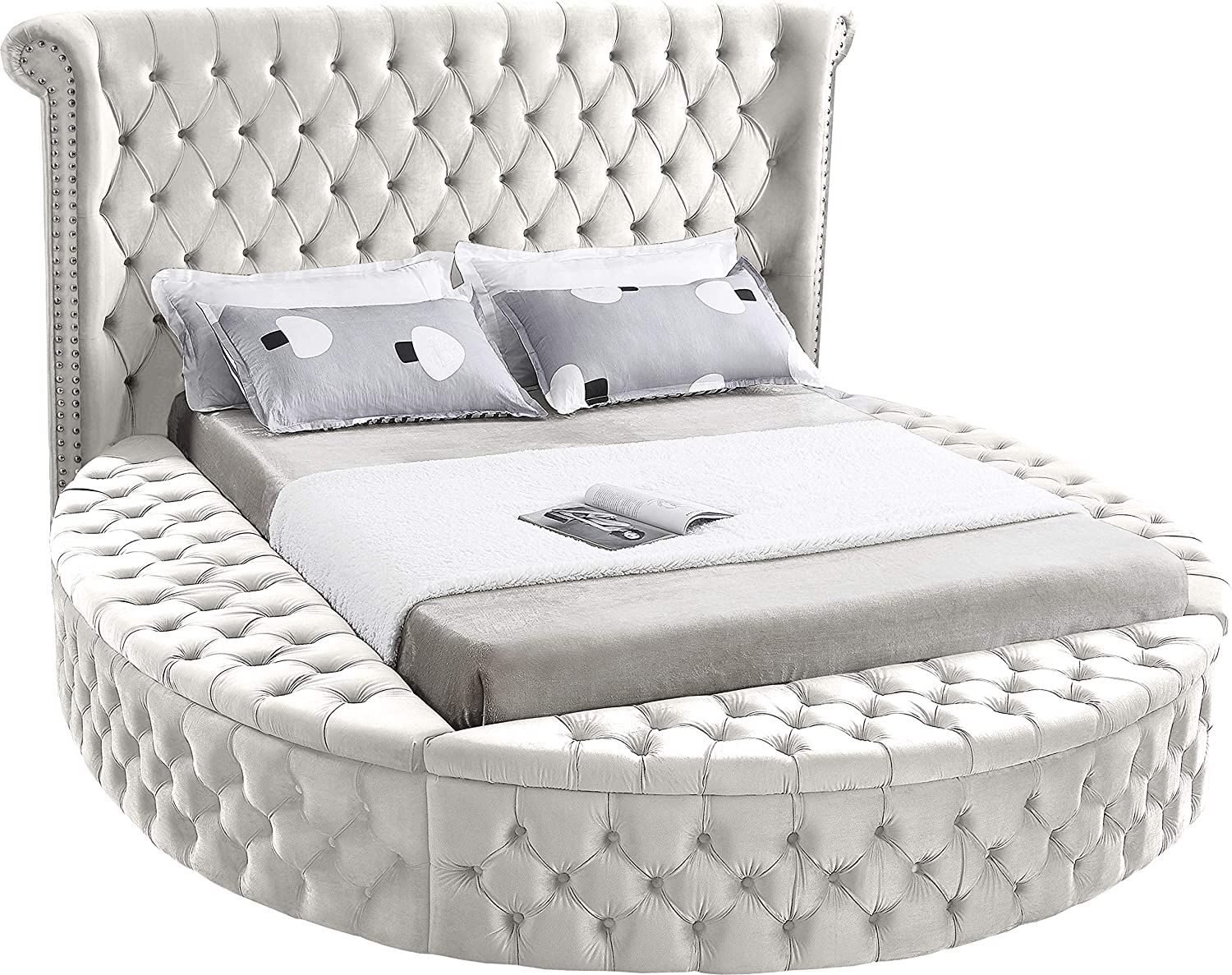 Meridian Choice Furniture Luxus Collection Modern Contemporary Round Seattle Mall