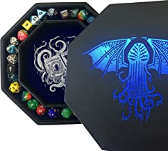 Fantasydice-Cthulhu Tome-Blue- Dice Tray - 8