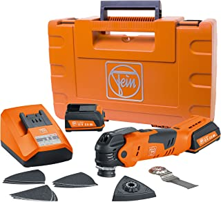 FEIN AFMT12QSL Cordless MultiTalent QuickStart StarlockPlus Oscillating Multi-Tool with snap-fit accessory change