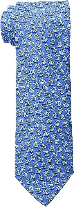 Dreidel Printed Tie