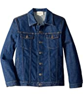 Gucci Kids - Graphic Logo Denim Jacket 547827XDAC6 (Big Kids)