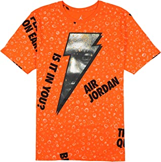 Men's Retro 1 Be Like Mike Gatorade T-Shirt XXX-Large Orange Black