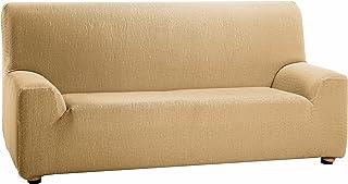 Martina Home Tunez - Funda elástica para sofá, Beige, 3 Plazas (180-240 cm)