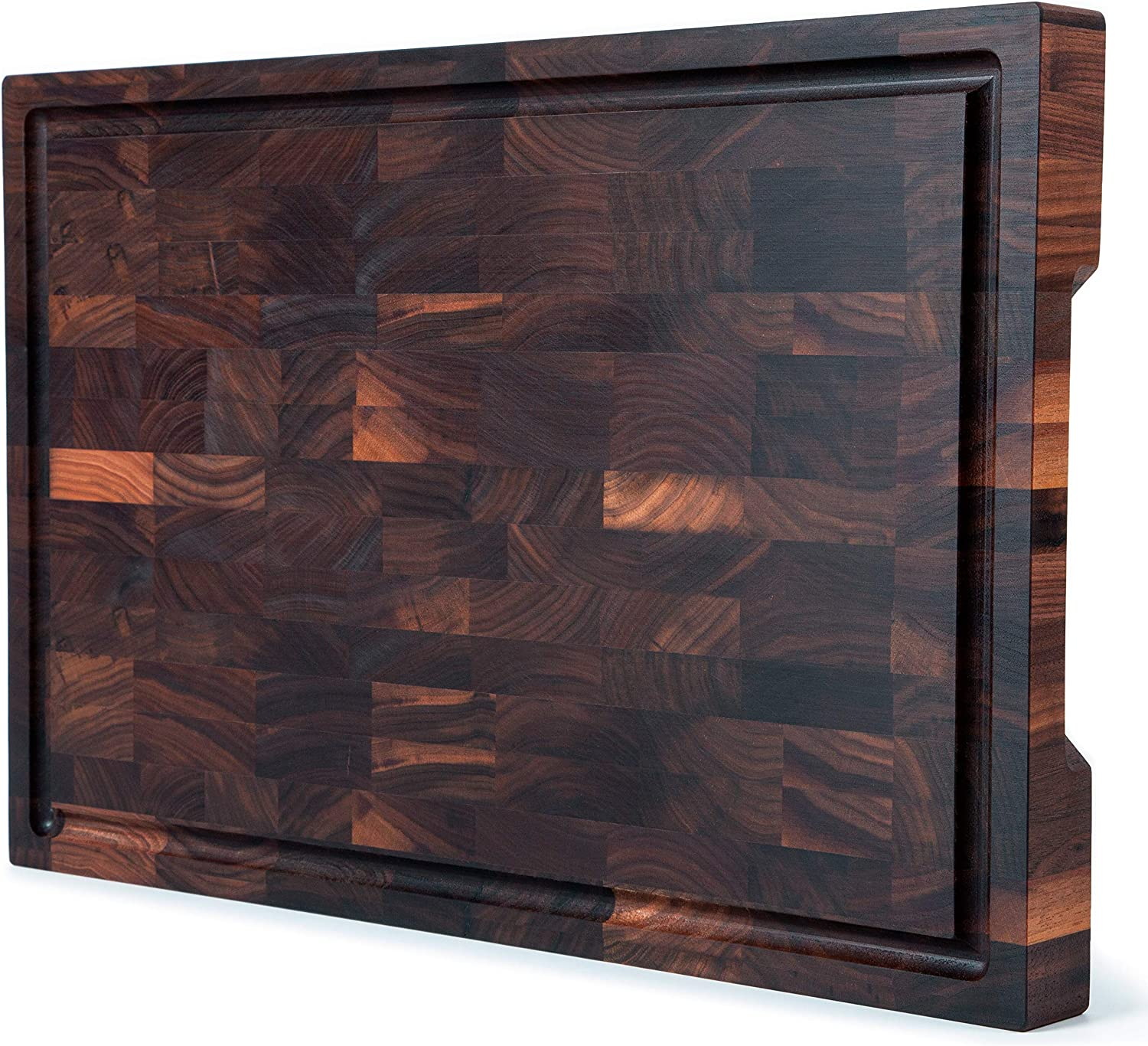Baltimore Mall Mevell Outlet SALE Walnut End Grain Cutting Made Wood Board Large Canadian