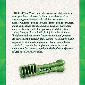 Greenies Original Petite Natural Dental Dog Treats (15 - 25 lb. dogs)