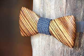 wooden bow tie crooked branch studio