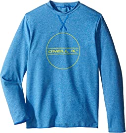 O'Neill Kids 24-7 Hybrid Long Sleeve Tee (Little Kids/Big Kids)
