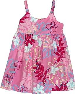 RJC Girls Plumeria Monstera Line Art Bungee Dress