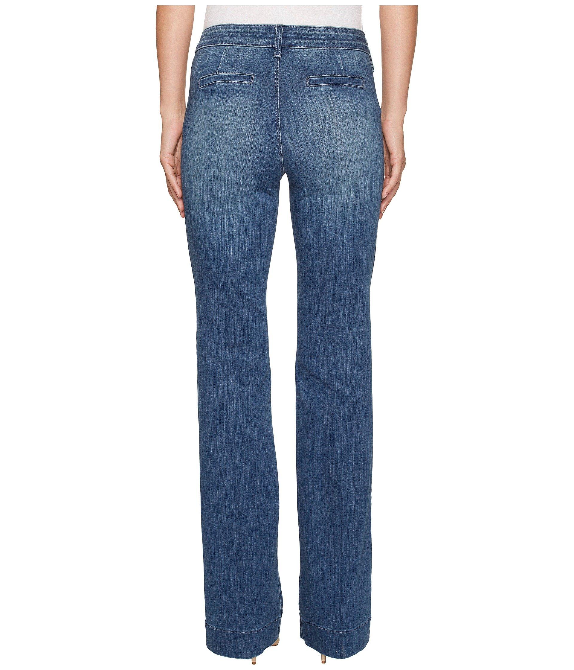 NYDJ Womens Teresa Trouser Jeans in Premium Denim at