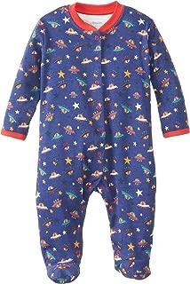 JoJo Maman Bebe Baby-Boys Newborn Ufo Sleepsuit