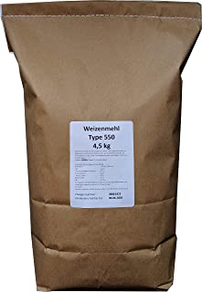 4,5 kg Weizenmehl Type 550