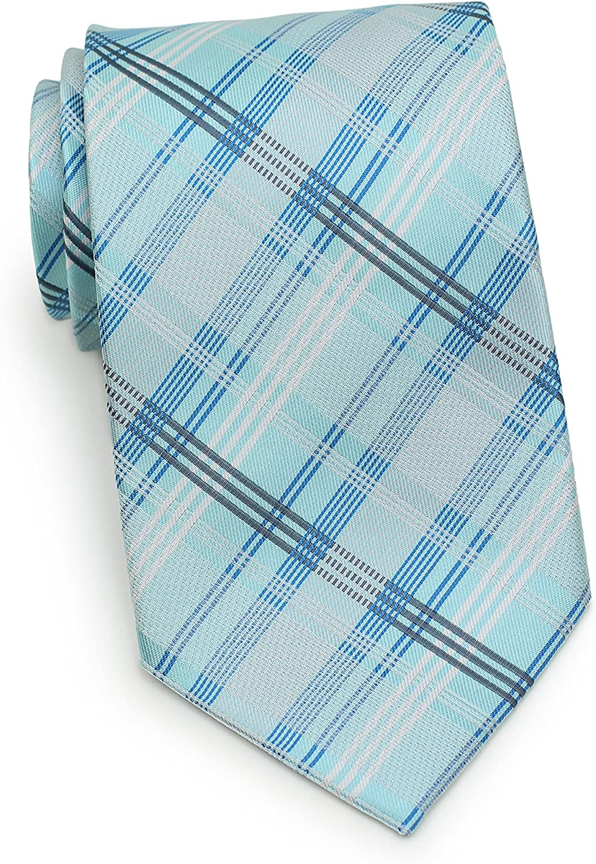 Bows-N-Ties Men's Necktie Summer Plaid Ranking TOP17 Reservation 3.2 Ties Satin Microfiber