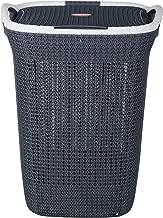 Nayasa Plastic Multipurpose Laundry Basket, Grey