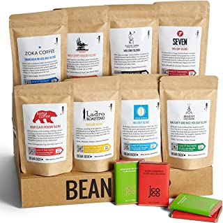 Bean Box - Deluxe Holiday Coffee Gift Box - Whole Bean