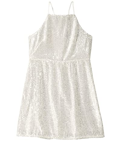 Bardot Junior Averly Beaded Dress (Big Kids) (Ivory) Girl