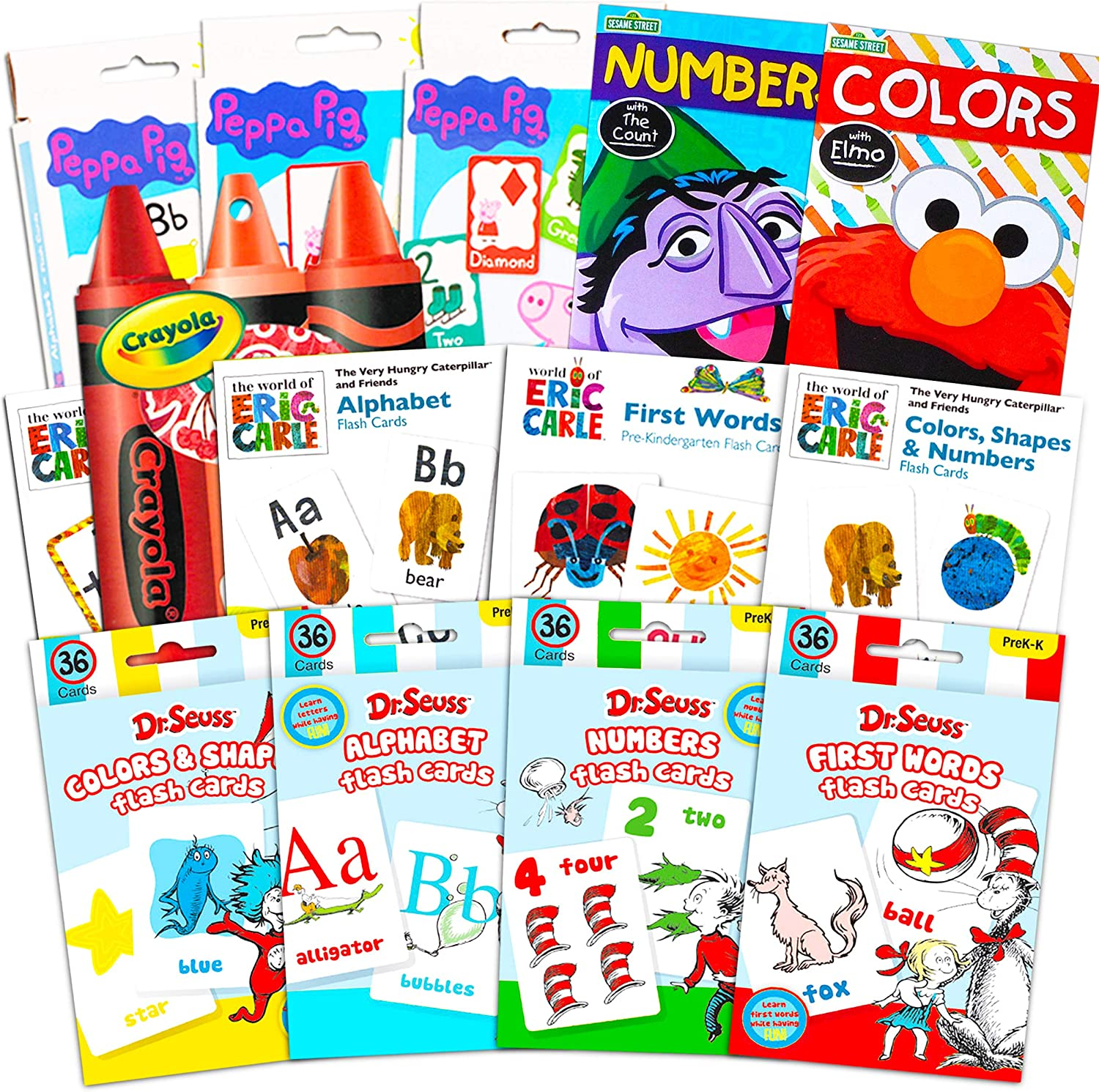 Flash Cards for Toddlers Kids Max 46% OFF Ultimate 12 Bundle of ~ Limited Special Price Set Packs
