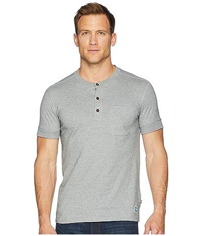 Fjallraven Greenland Buttoned Short Sleeve (Grey) Men