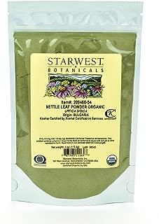 Starwest Botanicals Organic Nettle Leaf Powder, 4 Ounces