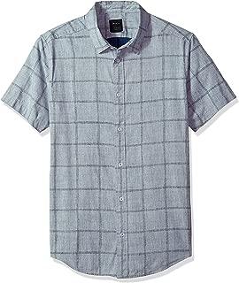 Men's Handle Short Sleeve Woven Shirt