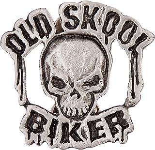 Hot Leathers Old Skool Biker Pin