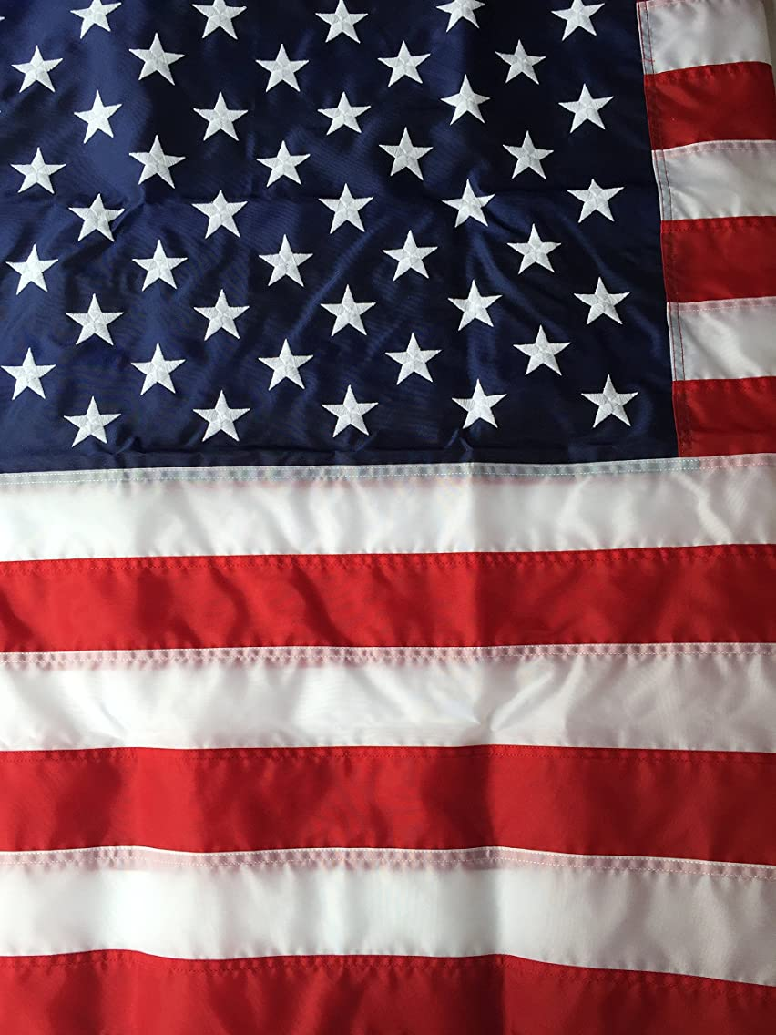 3'x5' Best Nylon US Flag Made In USA 3ftx5ft American Flag