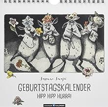 HIPP HIPP HURRA! Immerwährender Geburtstags- und Tischkalender