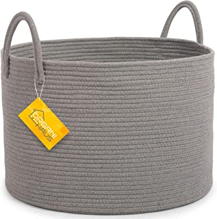 coiled fabric baskets