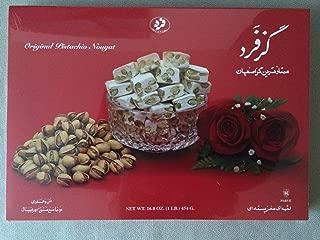Original Persian Nougat (Gaz/Gas) In 1lb (16oz) (454g) Box
