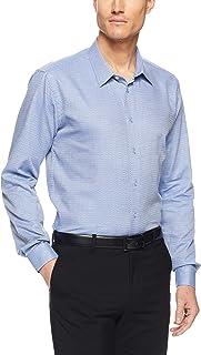 CALVIN KLEIN Slim Fit Business Shirt, Rouge, 38