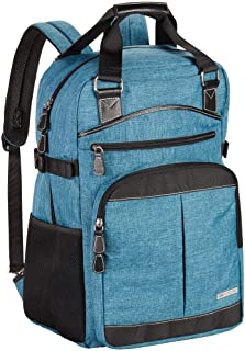 Clark & Mayfield Reed Backpack 17 Turquoise RDB17-46